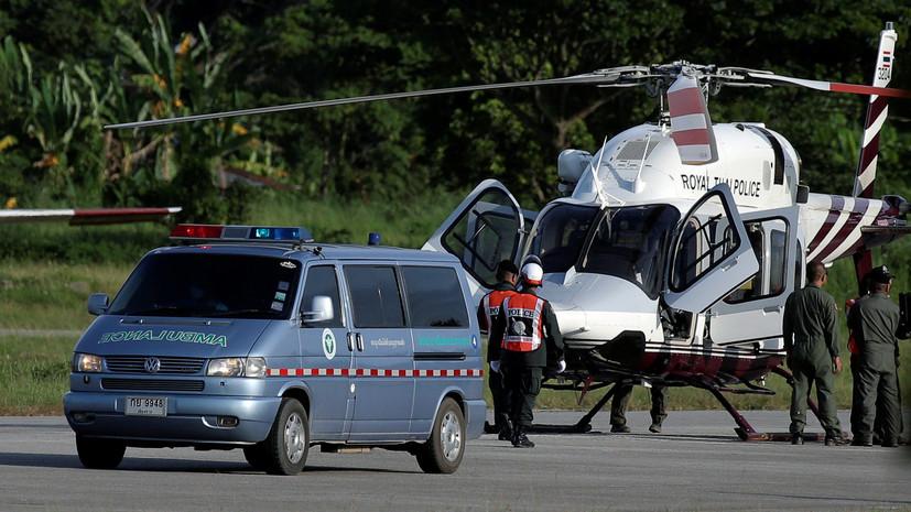 СМИ: Шестого ребёнка вывели из пещеры в Таиланде