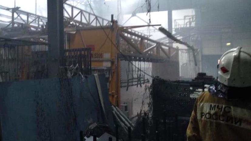 Следователи проводят проверку по факту пожара на авиазаводе в Иркутске