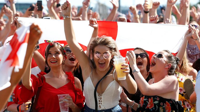 МИД Великобритании выпустил предупреждение перед матчем Англия — Хорватия