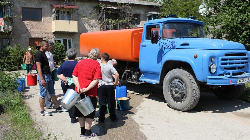 Крым и Севастополь получили 450 млн рублей для восстановления качества питьевой воды