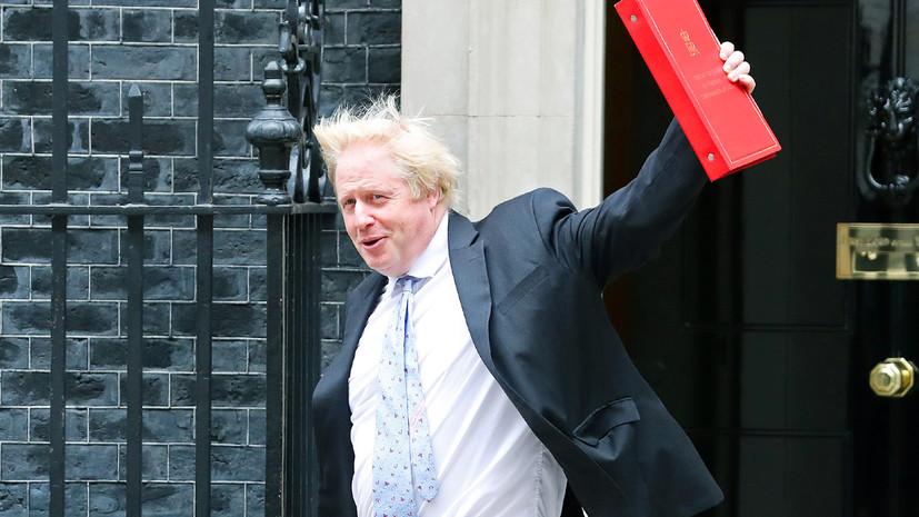 «Критическая масса накоплена»: почему глава МИД Великобритании Борис Джонсон подал в отставку