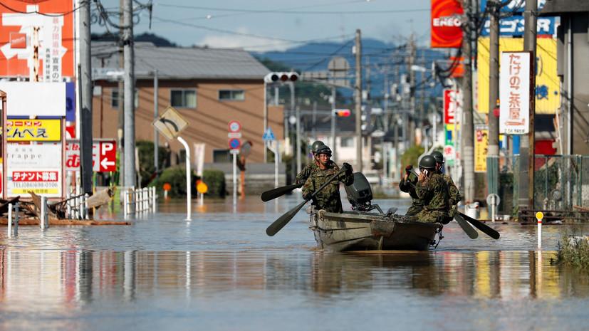 Число погибших из-за ливней в Японии возросло до 126 человек