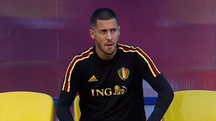 Полузащитник сборной Бельгии Эден Азар признался, что болел за Францию в детстве