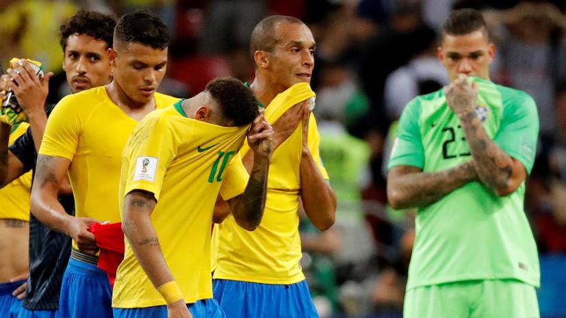 Болельщики не бросали яйца в автобус сборной Бразилии после ЧМ-2018