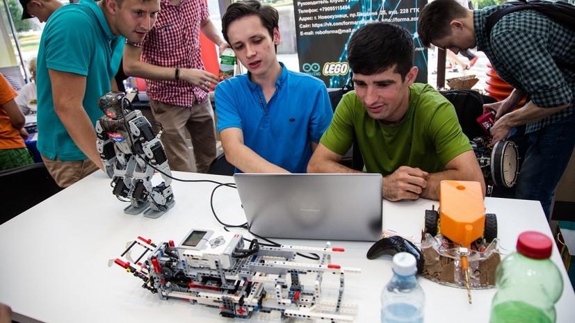 В Новокузнецке прошёл фестиваль робототехники