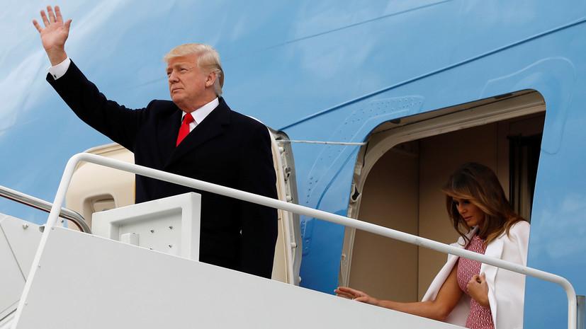 Трамп приедет в Финляндию на саммит с Путиным вместе с супругой