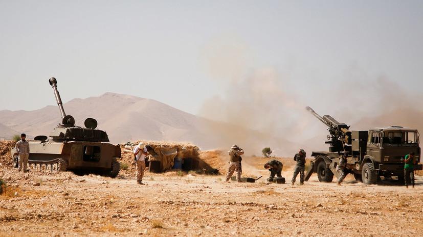 В Сирии боевики за сутки сдали 11 танков