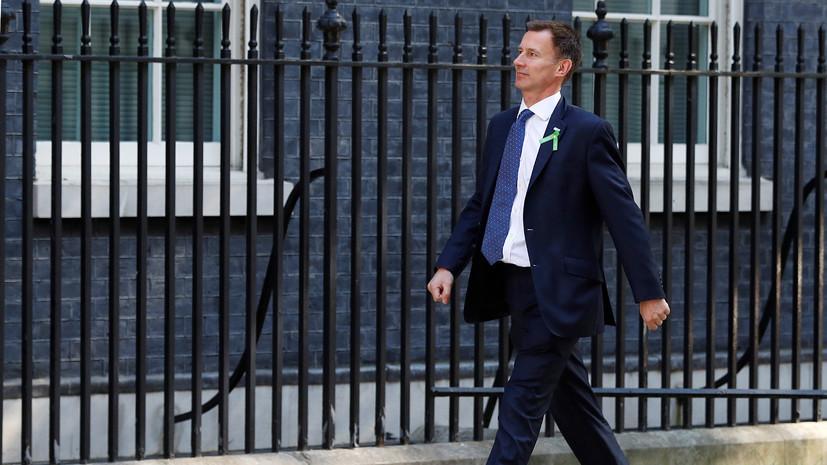 В Великобритании назначили нового главу МИД