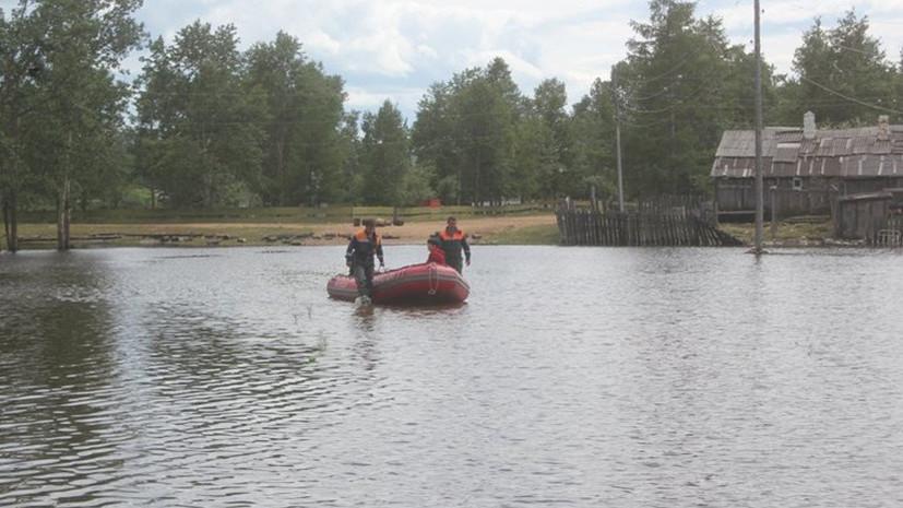 К ликвидации последствий паводка в Забайкалье привлекли более 400 человек