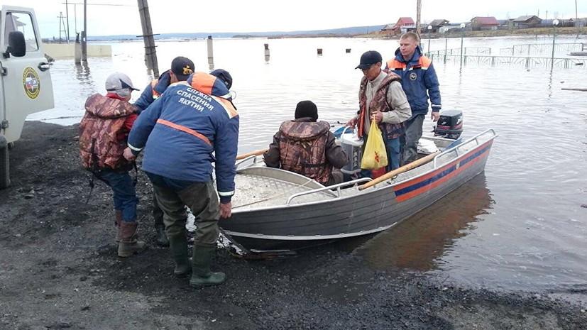 В Забайкалье объявлено штормовое предупреждение из-за паводков