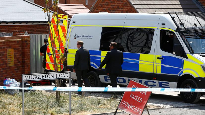 Полиция изъяла автомобиль по делу об отравлении в Эймсбери