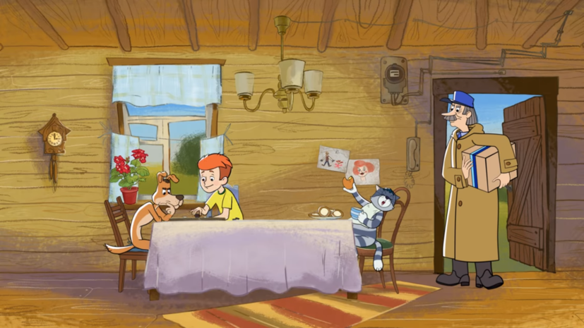 Вышла четвёртая серия мультфильма «Возвращение в Простоквашино»