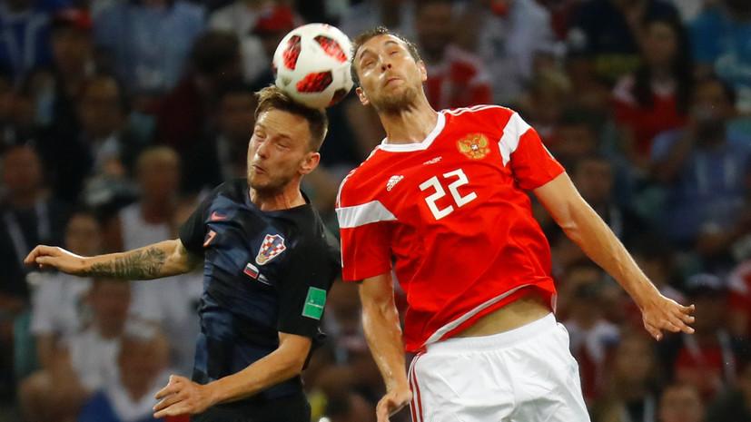 Матч Россия — Хорватия стал самым просматриваемым на Украине во время ЧМ-2018 по футболу