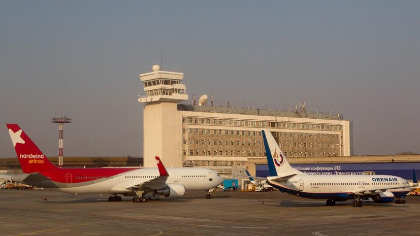 Аэропорт Хабаровска обслужил миллионного пассажира с начала года