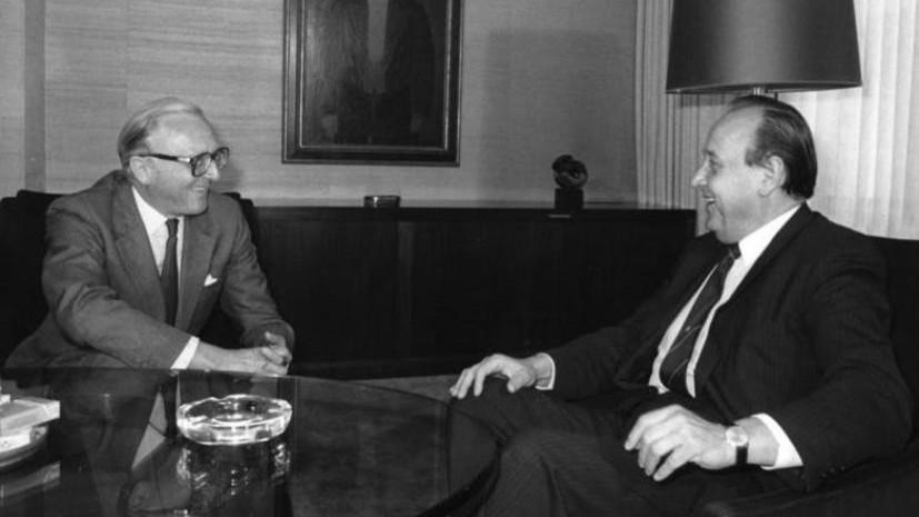 На сотом году жизни скончался бывший глава МИД Великобритании
