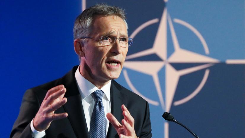 Столтенберг: НАТО за четыре года вложило в развитие военной мобильности более €2 млрд