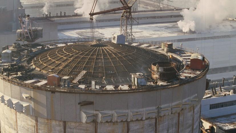 СМИ узнали о планах Украины возобновить проекты с Россией в области атомной энергетики