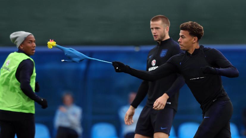 Саутгейт объяснил, почему игроки сборной Англии тренировались с резиновой курицей