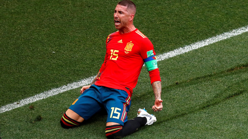 Рамос пожелал удачи Роналду в «Ювентусе»
