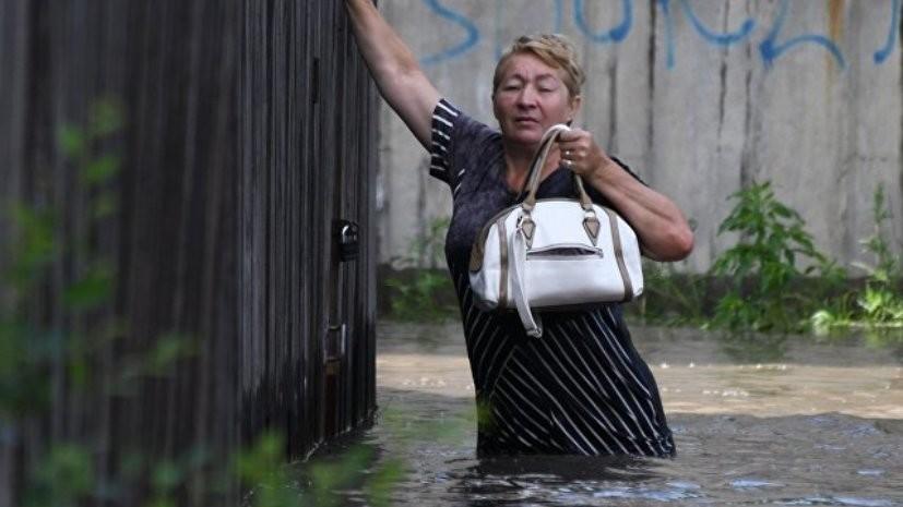 В Забайкальском крае из-за паводков объявлено новое штормовое предупреждение