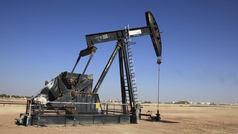 Нефть марки Brent подешевела более чем на 3%