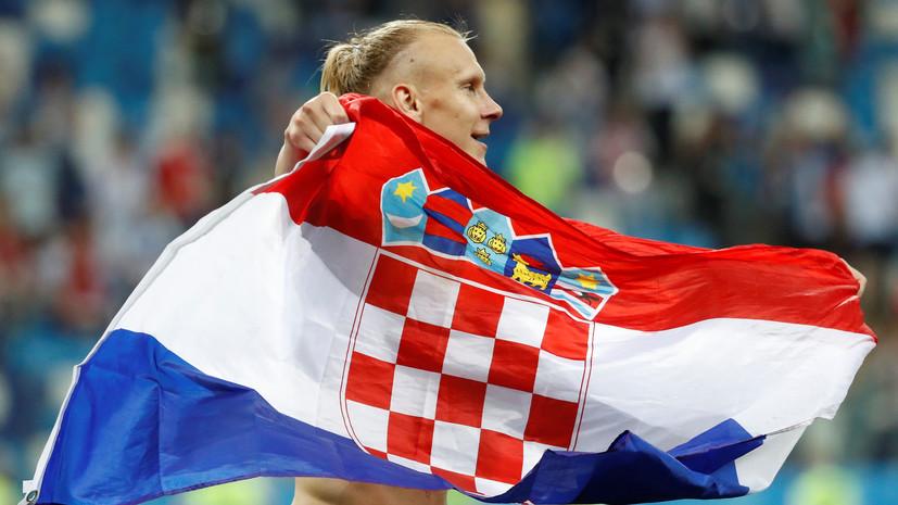 Порошенко поддержал высказывания членов сборной Хорватии по футболу Виды и Вукоевича
