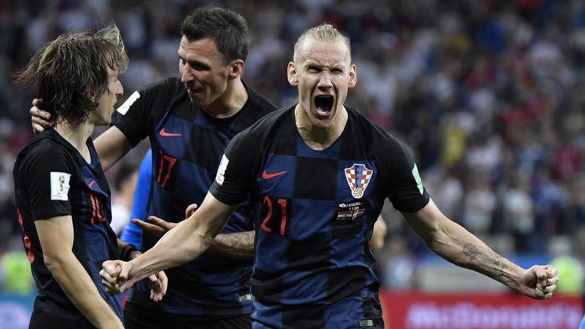 Вида попал в стартовый состав сборной Хорватии на матч 1/2 финала ЧМ-2018 с Англией