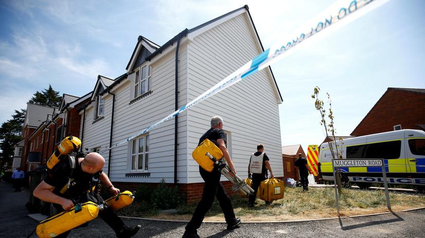 Посольство России потребует от Британии раскрыть программу синтеза отравляющих веществ