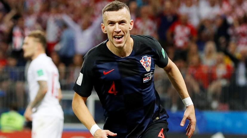 Перишич сравнял счёт в полуфинальном матче ЧМ-2018 Хорватия — Англия