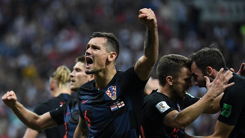 «У Хорватии невероятная сила воли»: что говорили игроки после матча 1/2 финала ЧМ-2018