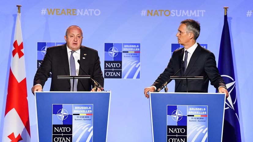Учения Грузии и НАТО пройдут в марте 2019 года