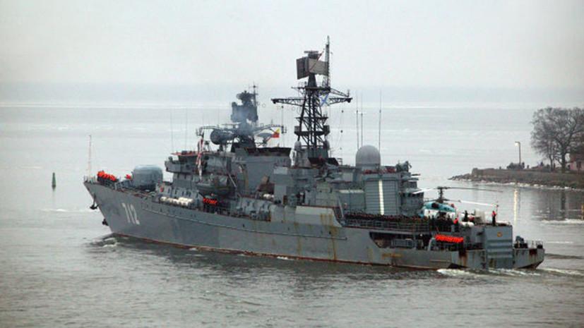 Фрегат «Неустрашимый» вернут в состав ВМФ до конца года