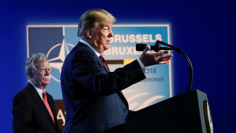Трамп заявил, что США остаются привержены НАТО