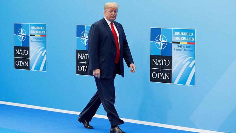 Расходы альянса и «простые» переговоры с Путиным: о чём говорил Трамп после саммита НАТО