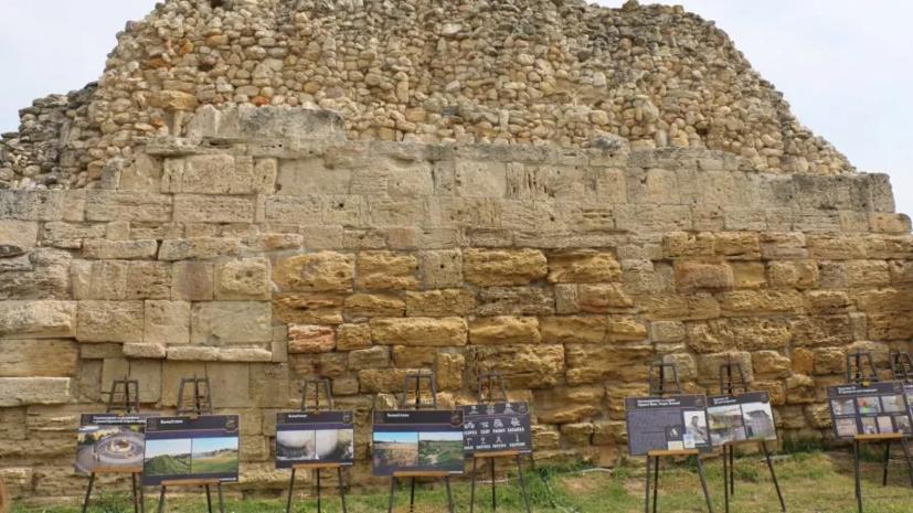 В «Херсонесе Таврическом» отреставрировали уникальный образец античной фортификации