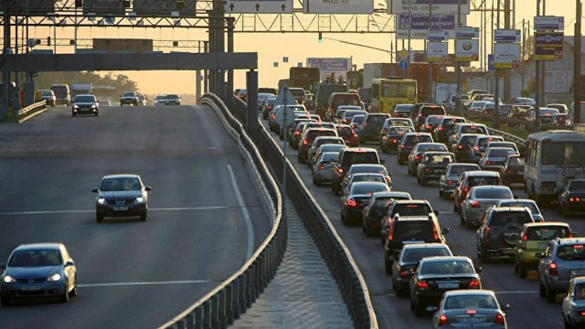 В Роспотребнадзоре заявили о снижении в атмосфере выбросов от автомобилей в Москве
