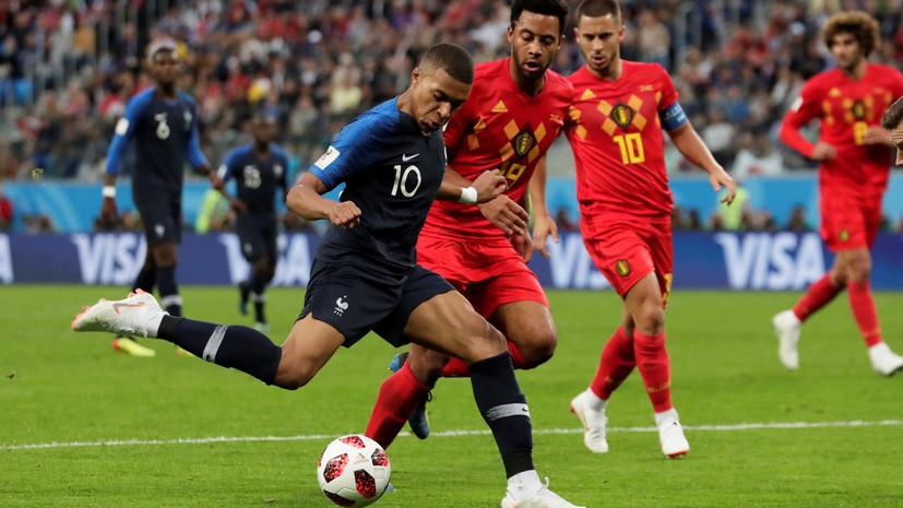 Блан высказался о роли Мбаппе в сборной Франции на ЧМ-2018