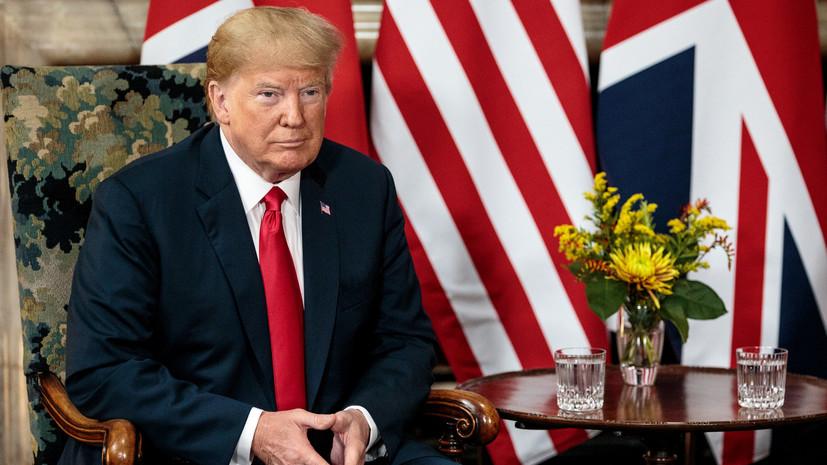 Эксперт объяснил, почему Трамп раскритиковал вариант «мягкого» брексита