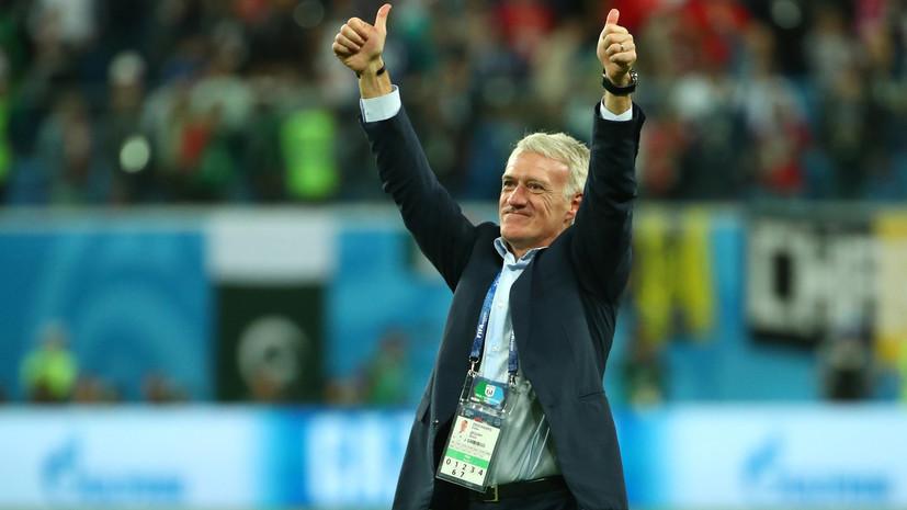Экс-футболист сборной Франции Ба считает, что Дешам способен повторить успех 1998 года
