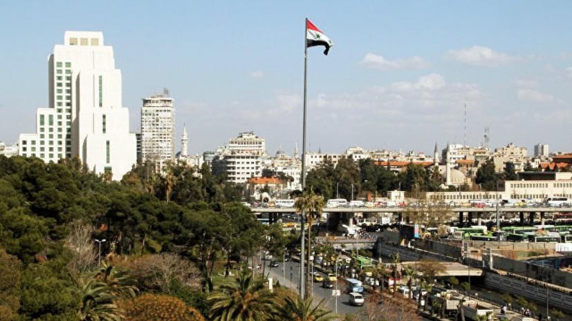 Сирия направила письма в ООН в связи с ударами коалиции по мирным жителям