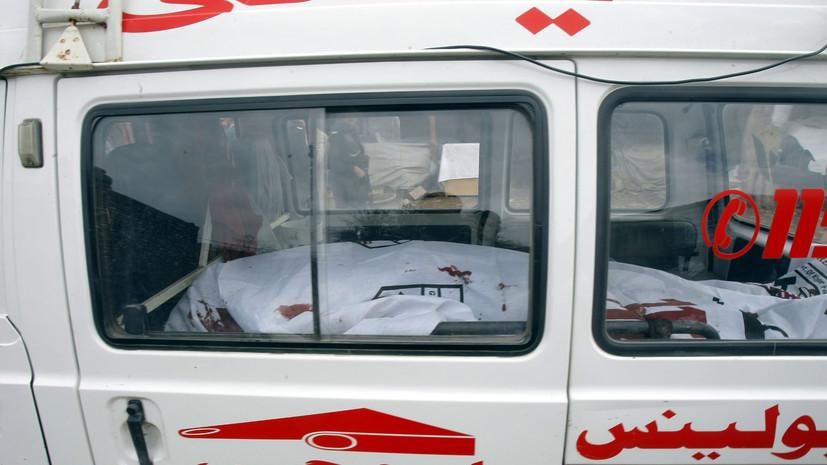 Число жертв взрыва в Пакистане возросло до 70