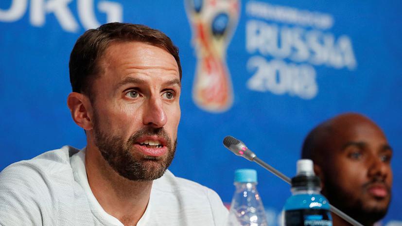 «Я ни о чём не жалею»: наставник сборной Англии о матче за бронзу ЧМ, судьбе «Золотой бутсы» и своих подопечных