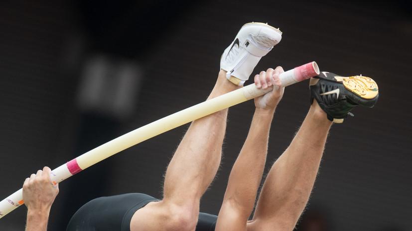 Российский легкоатлет Моргунов стал третьим на этапе Бриллиантовой лиги в Рабате