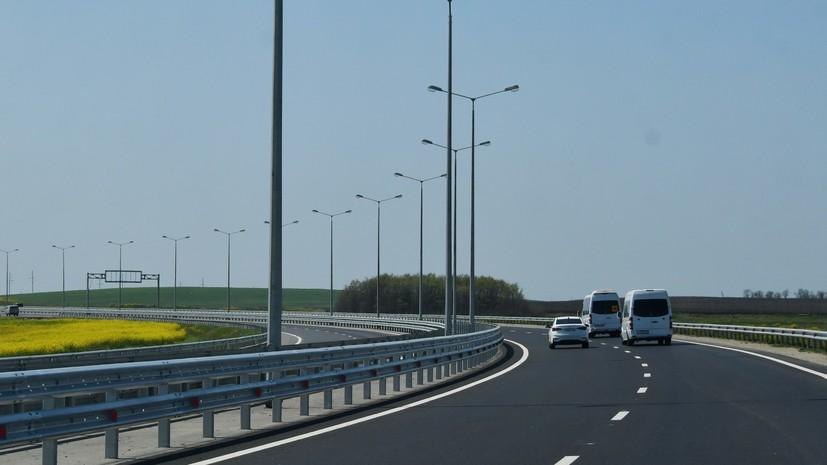 Движение на трассе Феодосия — Симферополь ограничат для грузовиков с 15 августа