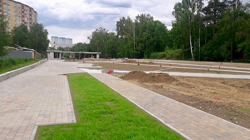 Новый парк откроют 3 сентября в Химках
