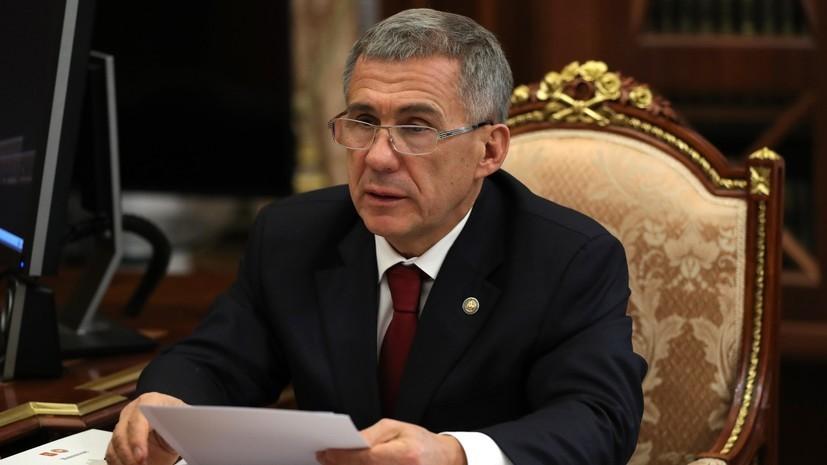 Президент Татарстана подписал план по сотрудничеству с Курганской областью