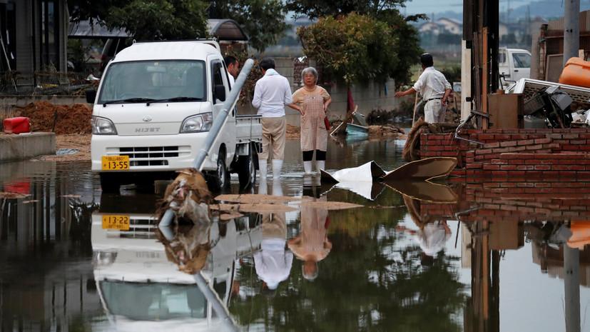 Трамп выразил соболезнования семьям погибших при наводнении в Японии