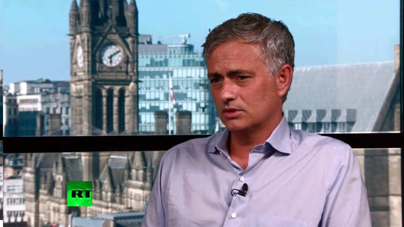 Моуринью призвал не критиковать сборную Англии и рассказал о её перспективах