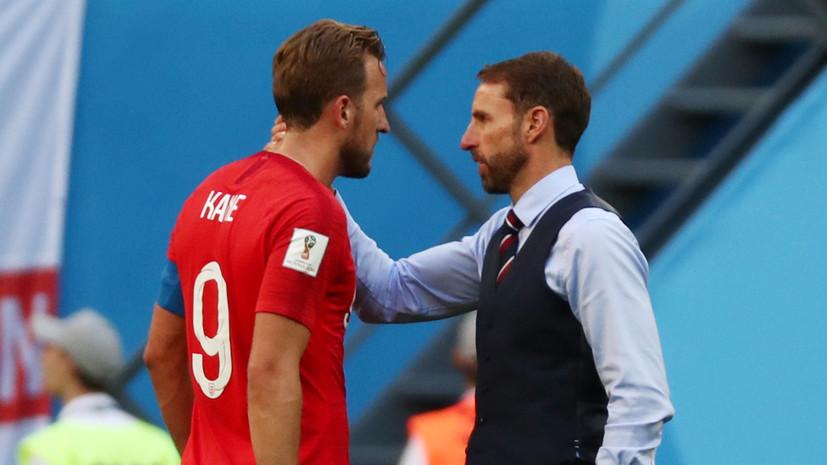 Саутгейт высказался об игре Кейна в матче с Бельгией за третье место на ЧМ-2018