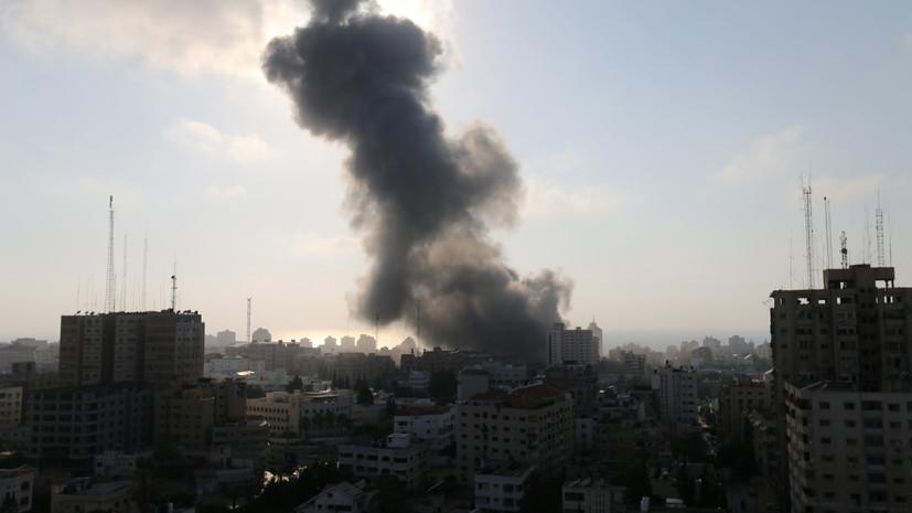 В Израиле назвали число выпущенных снарядов по территории страны из сектора Газа за день